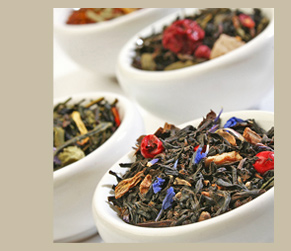 Loose leaf tea blends.